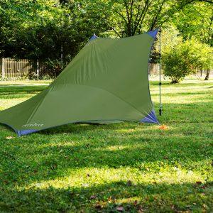 Amazonas Traveller tarp, vindskydd