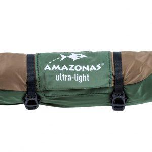 Adventure hammock coyote - ultralätt resehängmatta förpackning