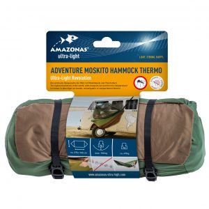 Adventure Moskito Hammock Thermo - ultralätt resehängmatta förpackning