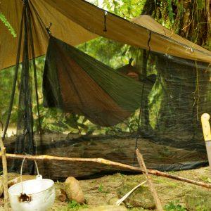 Adventure hammock coyote - ultralätt resehängmatta utomhus