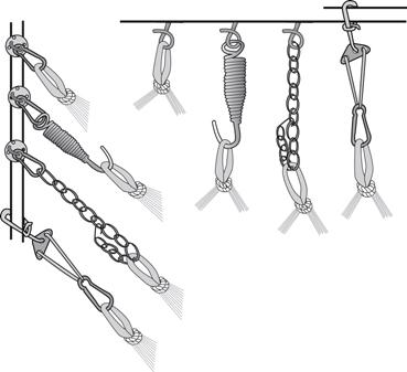 kombinationsmöjligheter installaton hängmatta