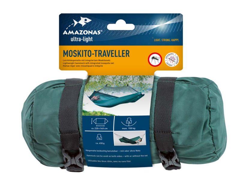 Amazonas Moskito Traveller hammock - vildmarkshammock med myggnät - förpackning