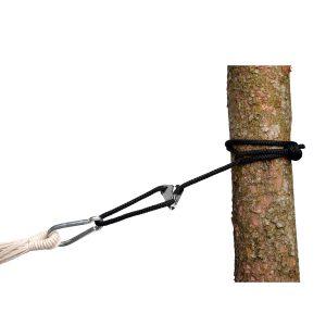 Amazonas Smartrope black - upphängningsset för hängmattor och hängstolar