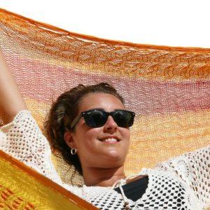 Macamex Mexicana solar Matrimonial näthängmatta