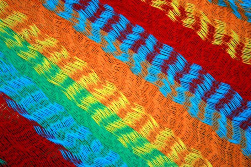Macamex Mexicana multicolor - färgmönster