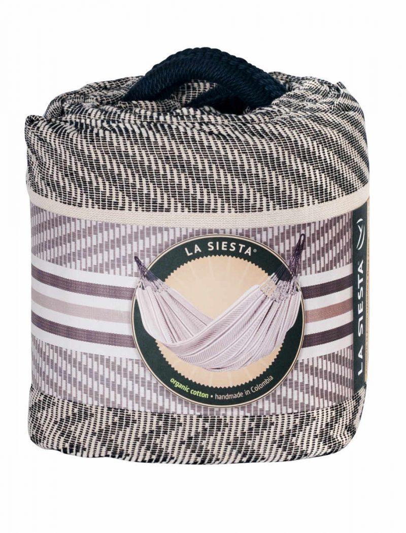 La Siesta familjehängmatta Flora zebra - kingsize - förpackning