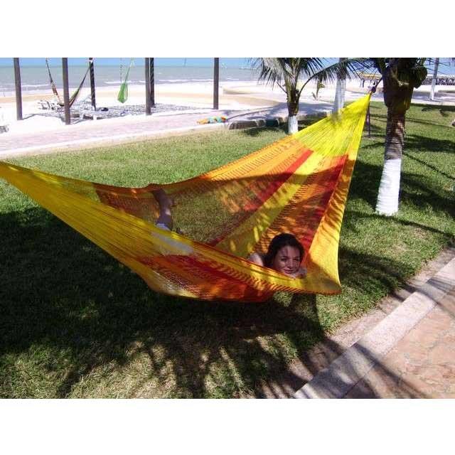 Macamex mexicana solar Matrimonial - stor näthängmatta för två