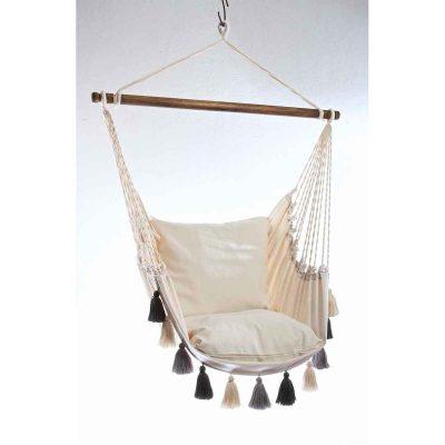 Lazy Rest hängfåtölj Tassel natura