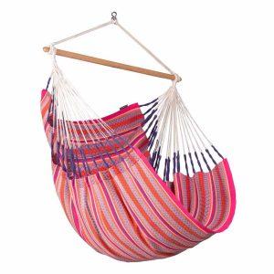 La Siesta Habana Comfort flamingo - hängstol i ekologisk bomull