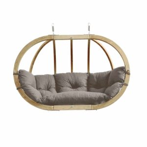 Amazonas hängstol Globo Royal Chair taupe